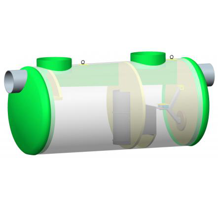 PRV hydrocarbon separator with stripper, with bypass, from 35