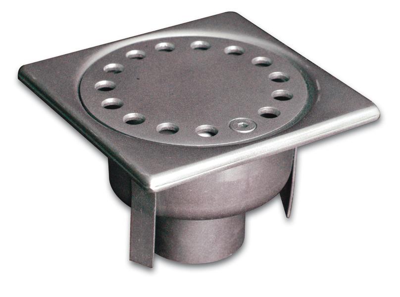 Siphons standard en inox 304 L